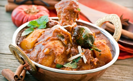 Indian Dinner for Two or Four at The Dancing Elephant II (Up to 53% Off)