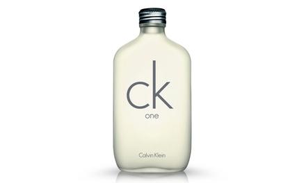 Calvin Klein CK One Unisex Eau de Toilette; 3.4 fl. oz.