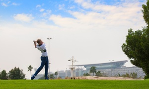 Meydan Golf: Golf Lesson or Nine Holes of Golf with a PGA Professional at Meydan Golf (Up to 38% Off*)
