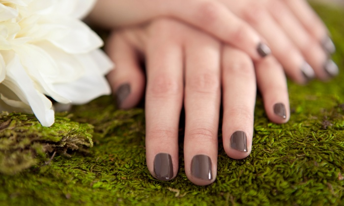 Sole Stutsman at Euphoria Salon - North End: One or Three Shellac Mani or One Classic Mani and Spa Pedi with Sole Stutsman at Euphoria Salon (Up to 51% Off)