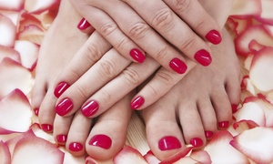 Hair And Nails By Design: A Spa Manicure and Pedicure from Kayla Wilson at Hair and Nails by Design (50% Off)