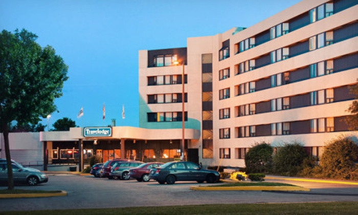 Travelodge Toronto East - Malvern: $59 for a One-Night Stay for Two at Travelodge Toronto East (Up to $120 Value)