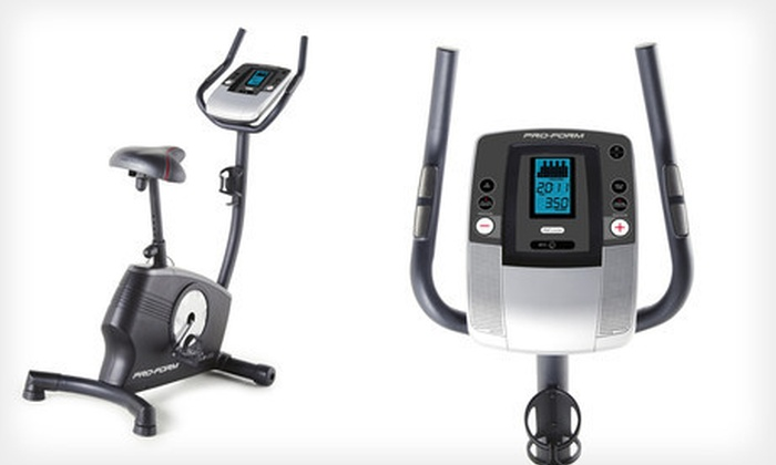 ICON Health & Fitness: $199 for a ProForm 2.0 ES Upright Exercise Bike ($399.99 List Price)