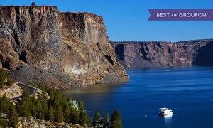 Cove Palisades Resort and Marina: Houseboat Rental from Cove Palisades Resort and Lake Billy Chinook Houseboats (44% Off). Two Options Available.