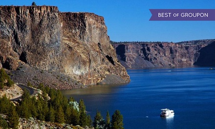 Houseboat Rental from Cove Palisades Resort and Lake Billy Chinook Houseboats (44% Off). Two Options Available.