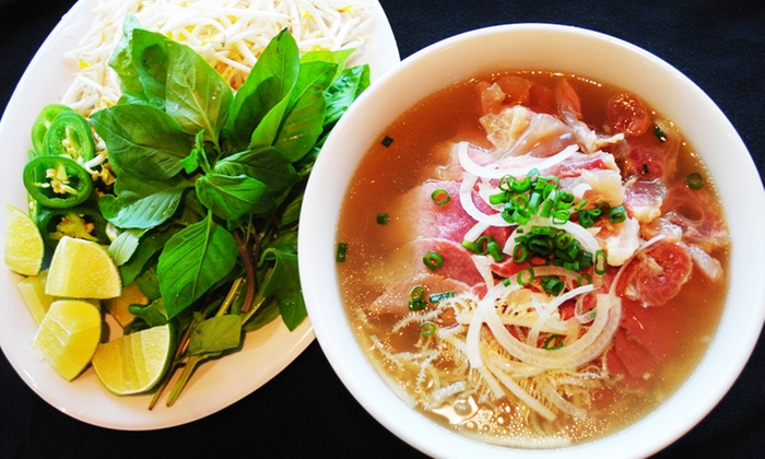 Pho Bistro - Gaithersburg: Pho and Vietnamese Cuisine at Pho Bistro (40% Off). Two Options Available.