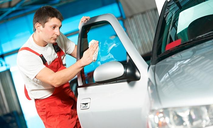 Lavage auto int rieur et ext rieur net auto expert groupon for Lavage auto exterieur