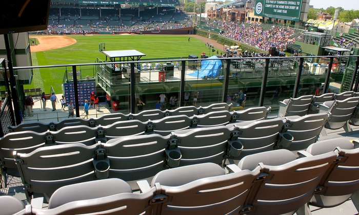 Rooftop View Of Cubs Playoffs Lakeview Baseball Club Groupon - Groupon baseball tickets