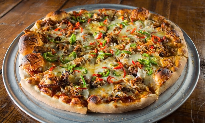 HVAC Pub - Lakeview: $15 for $20 Worth of Inventive Pizzas and Pub Food for Pickup from HVAC Pub