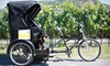 Sonoma Pedi - Boyes Hot Springs: $89 for a Three-Hour Pedicab Wine Tour for Two from Sonoma Pedicabs ($200 Value)