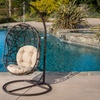 Guerneville Egg-Shaped Outdoor Swing Chair