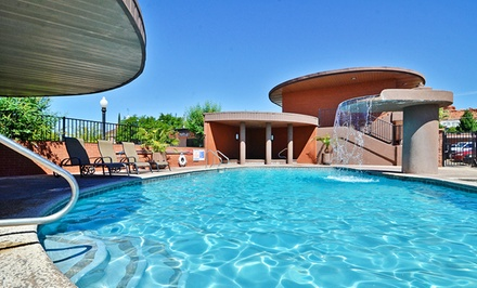 groupon daily deal - Stay at Best Western Coral Hills in Saint George, UT. Dates Available into January.
