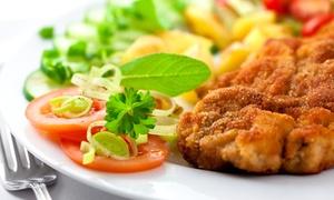 Gaststätte Gut Holz: Schnitzel nach Wahl mit Beilagen und gemischtem Salat in der Gaststätte Gut Holz ab 14,90 € (bis zu 65% sparen*)