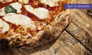 Fat Ptarmigan: Gourmet Pizza and Italian Food at Fat Ptarmigan (32% Off). Two Options Available.