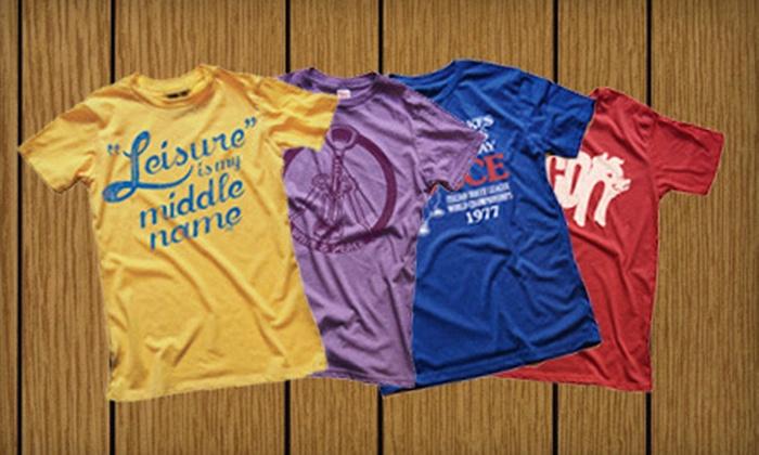 Solid Threads - Hoboken: $20 for $40 Worth of Graphic T-Shirts for Men, Women, and Kids at Solid Threads