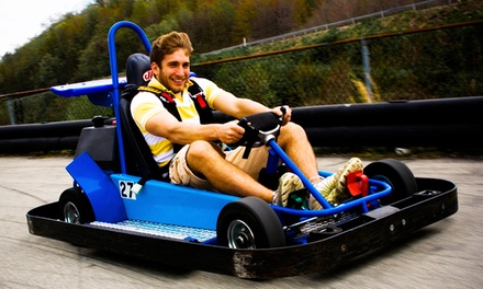 Go-Karting and Mini Golf for Two, Four, or Six at Statler's Fun Center (Up to 55% Off)