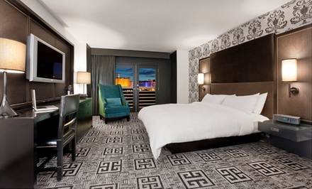 groupon daily deal - Stay with Dining Credit at Hard Rock Hotel & Casino Las Vegas in Las Vegas, with Dates into August