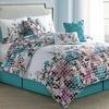 6- or 7-Piece Floral-Dot Design Comforter Set