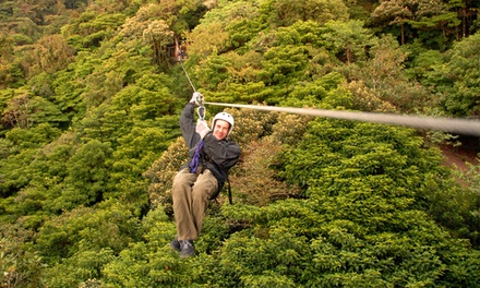 Zipline Adventure with Photos at Markin Farms Zipline Adventures (Up to 36% Off). Two Options Available.