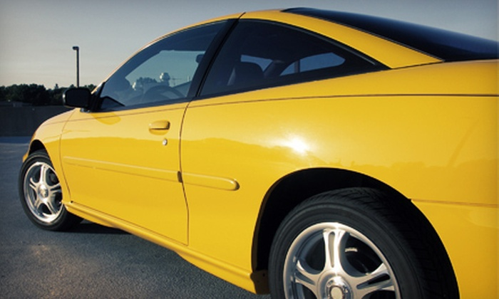 Shine Time Detail - Oakville: Express Detailing or Complete Headlight Restoration at Shine Time Detail (Up to 60% Off)