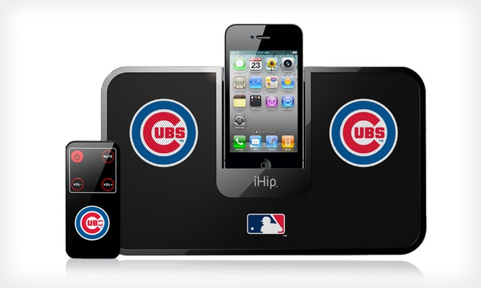 iHip MLB Speaker Dock: $19 for an iHip MLB Portable Speaker Dock with Remote ($79.99 List Price). 13 Teams Available.