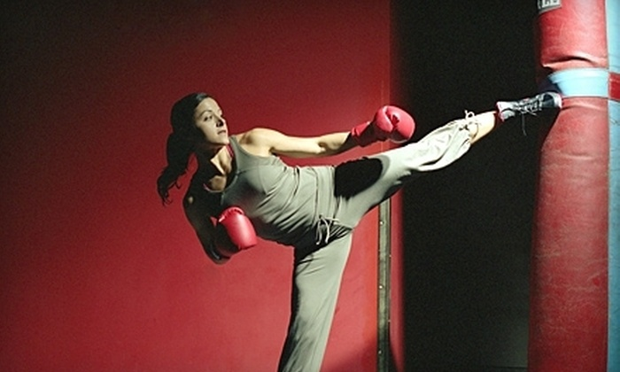 Fast Result Fitness - Costa Mesa: Four or Eight Kickboxing Classes or Two Women's Self-Defense Classes at Fast Result Fitness (Up to 76% Off)