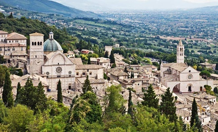 Groupon Deal: 7-Day Culinary Tour in Umbria, Italy from Epitourean with Classes and All Meals. Price/Person Based on Double Occupancy.