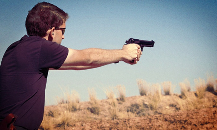Tactical Intelligence Group - Multiple Locations: Shooting-Range Outing for Two or Four or Firearms Course at Tactical Intelligence Group in Harrison (Up to 65% Off)