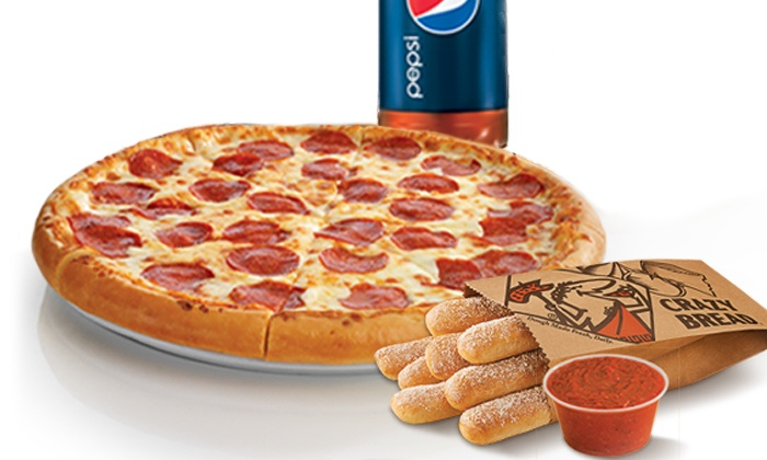Little Caesars - Multiple Locations: $10 for a Large Pizza, Crazy Bread with Sauce, and 2-Liter Soda at Little Caesars ($16.09 Value)
