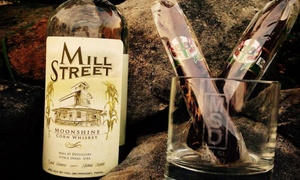 Mill St. Distillery: Distillery Tour and Tasting for Two, Four, or Eight at Mill St. Distillery (Up to 56% Off)
