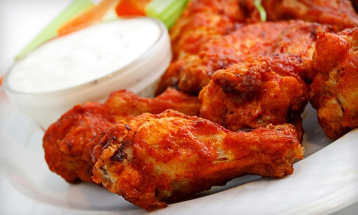 The Stadium Grill & Bar - West Des Moines: $10 for $20 Worth of Pizza, Sandwiches, and Wings at The Stadium Grill & Bar