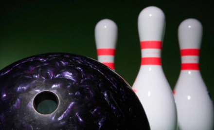 $22 for Three Hours of Glow Bowling and Four Shoe Rentals at Liberty Lanes in Largo ($48 Value)