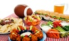 Hogan's Beach - Northwest Tampa: Big-Game Party with Buffet for Two or Four on Sunday, February 2, at Hogan's Beach (Up to 52% Off)