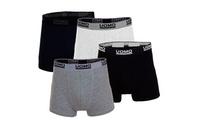 Pack de 4 boxers Uomo
