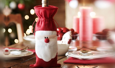 Santa Claus Wine Bottle Cover from £1.99