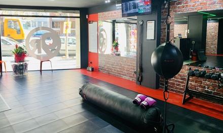 1 o 3 meses de clases ilimitadas de kickboxing fitness en 9Round Les Corts (hasta 83% de descuento)