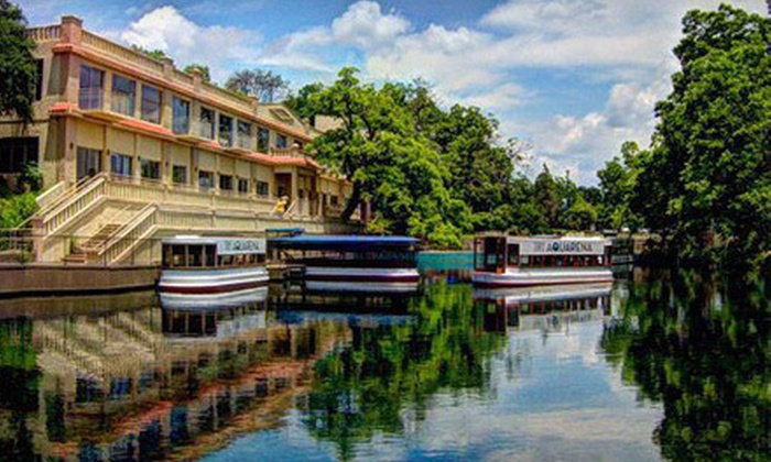 Aquarena Center - Texas State University: Glass-Bottomed Boat Tour for Two or Four at Aquarena Center (Half Off)