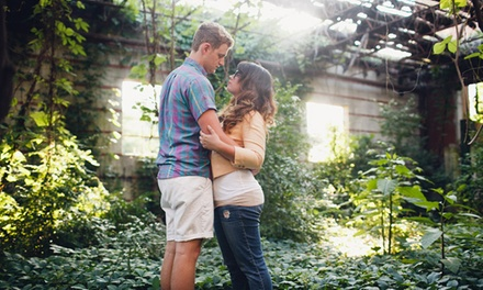 $250 for a Three-Hour On-Location Engagement Photography Package with Image CD from Mark Elkins Photography ($500 Value)