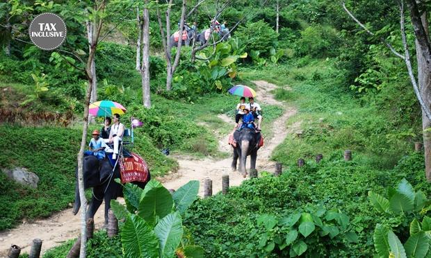 Phuket: Elephant Ride & Animal Show 0