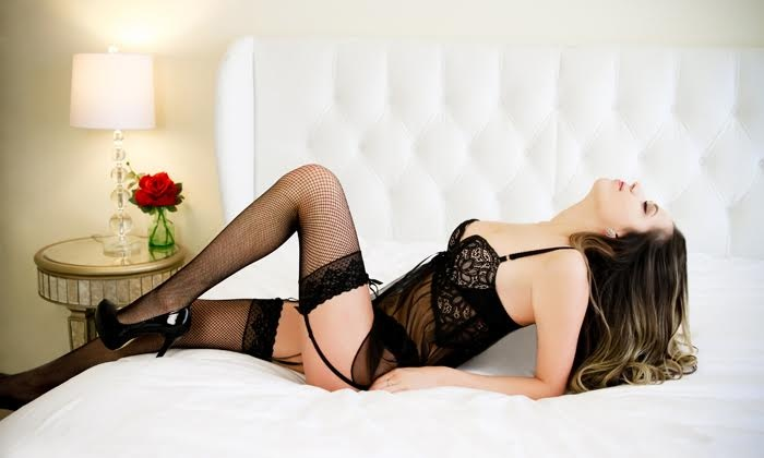 "Celebrate Your Sexy - Boston: Boudoir Photo Shoot with Option for Two 5""x7"" Prints or One 11""x14"" Print at Celebrate Your Sexy (Up to 90% Off)"