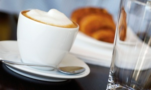 The Percolator Coffee House: Two or Four Groupons for Coffee and Pastries at The Percolator Coffee House (Up to 40% Off)