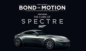 London Film Museum: Bond in Motion at the London Film Museum: Adult (£9.50), Child (£7.50) or Family (£29) Entry (Up to 34% Off)