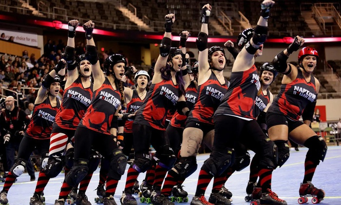Naptown Roller Girls - Fairgrounds: General Admission for One, Two, or Four to Roller-Derby Event at Naptown Roller Girls (Up to 49% Off)