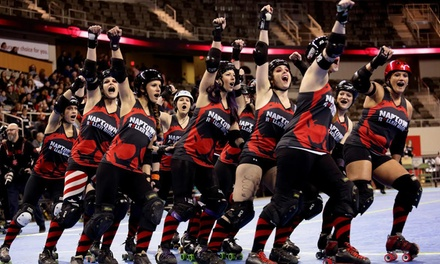 General Admission for One, Two, or Four to Roller-Derby Event at Naptown Roller Girls (Up to 63% Off)