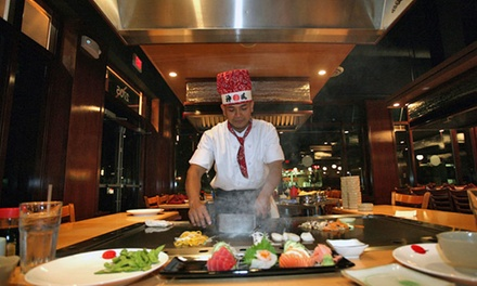 Japanese Cuisine at Tokyo Japanese Steak House (Up to 47% Off). Four Options Available.