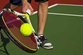 MAINS & CROSSES: $21 for $45 Worth of Tennis — Mains & Crosses
