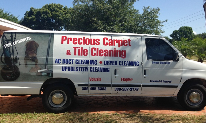 Precious Carpet And Tile Cleaning - Daytona Beach: $55 for $110 Worth of Rug and Carpet Cleaning for up to Four Rooms — Precious Carpet and Tile Cleaning