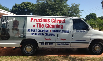 $55 for $110 Worth of Rug and Carpet Cleaning for up to Four Rooms — Precious Carpet and Tile Cleaning
