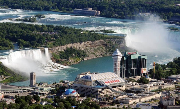 Sheraton On The Falls - Niagara Falls, Ontario: Stay with Dining and Activities Package at Sheraton On The Falls in Niagara Falls, ON, with Dates into December