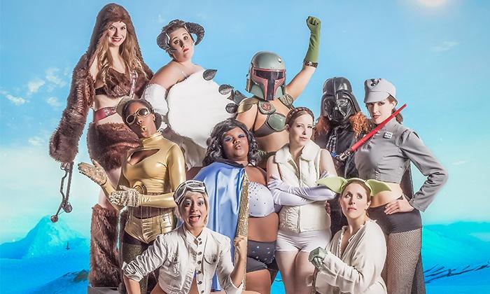 """""""Empire Brings Sexy Back"""" or """"Holy Bouncing Boobies: A Batman Burlesque"""" - Gorilla Tango Theatre: """"The Empire Brings Sexy Back: A Star Wars Burlesque"""" or """"Holy Bouncing Boobies: A Batman Burlesque"""" (Up to 39% Off)"""